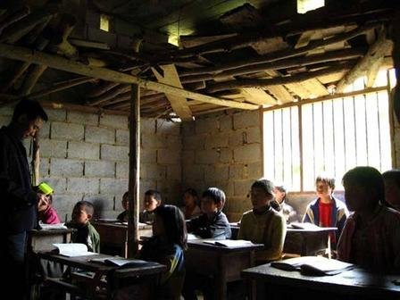 Providing education for 267 children in China