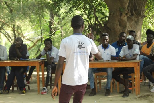 Peer educators camp