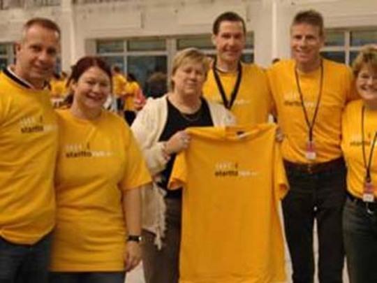 Participants of Fundraiser