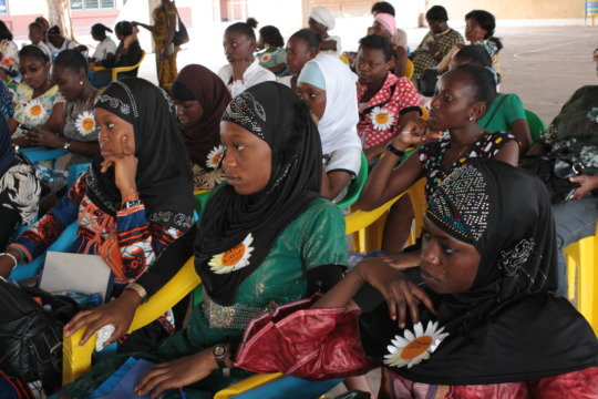 Kinshasa event for local girls