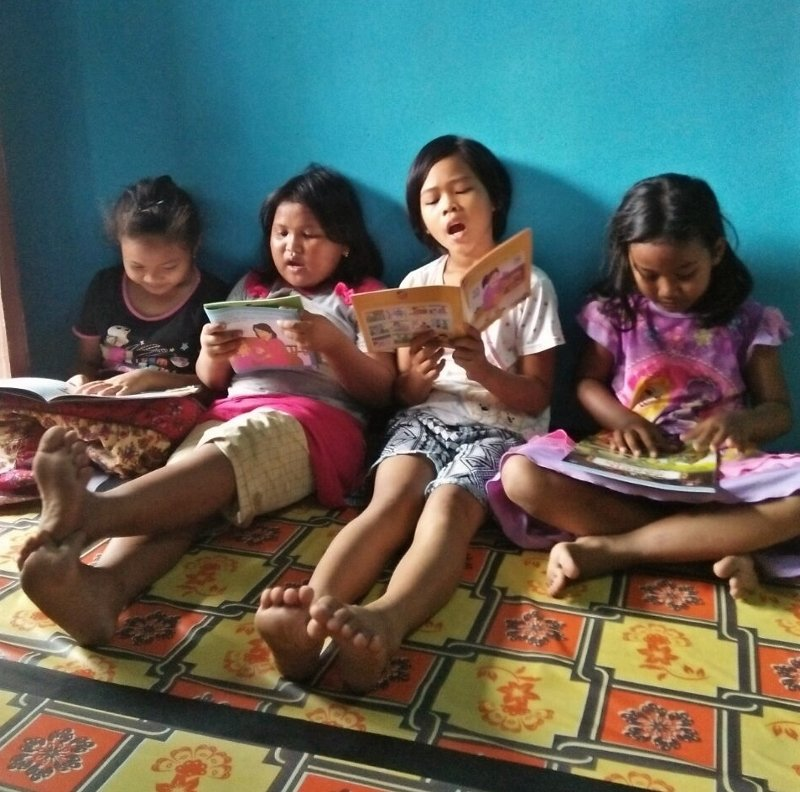 These Students Love to Read