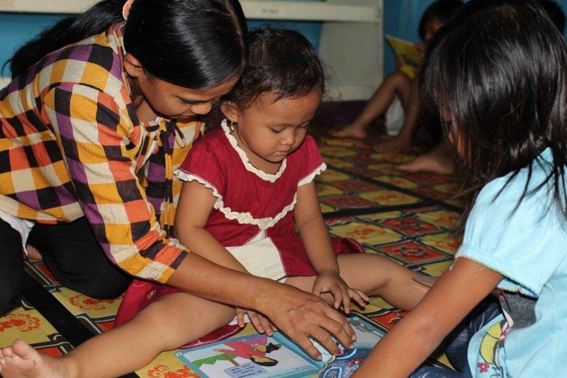 Even Pre-School Children Enjoy the Stories