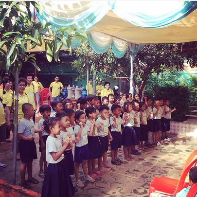 LKC preschool grads sing to thank their parents