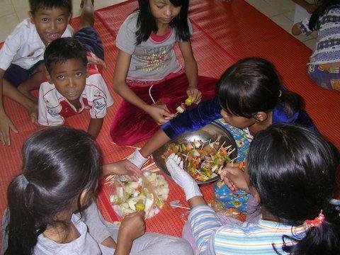 Helping prepare delicious, healthy meals