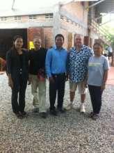 Collaborating w/ local NGO Treak Community Center
