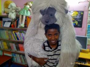 Gopi and his gorilla