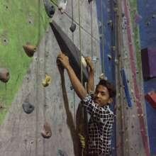 Rock climbing in Kathmandu