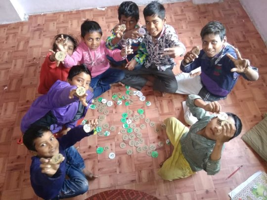 Classes and games at our day care centre