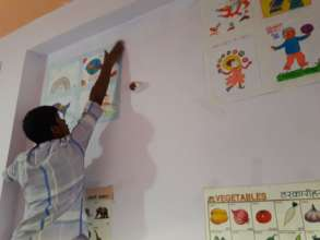 Decorating the Day Care Centre