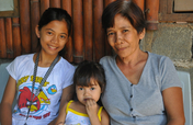 Feed Arlyn and her family during floods