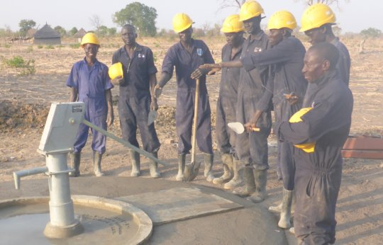 The first well drilled by WFSS in 2017