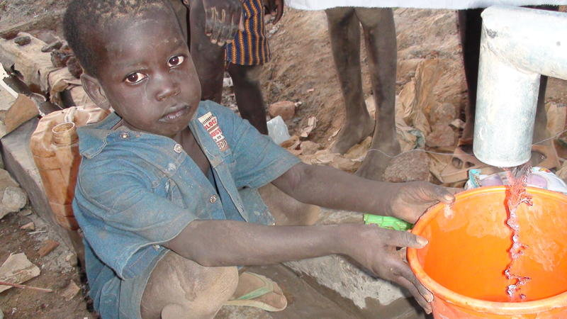 With access to fresh water children are healthier