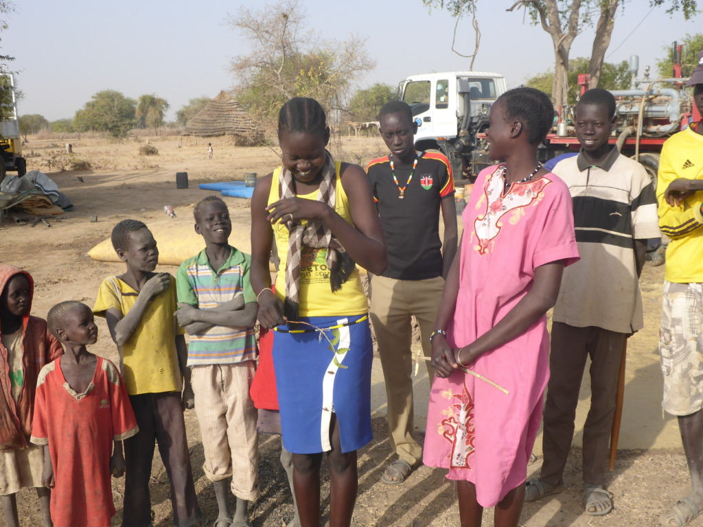 Villagers celebrate access to clean water