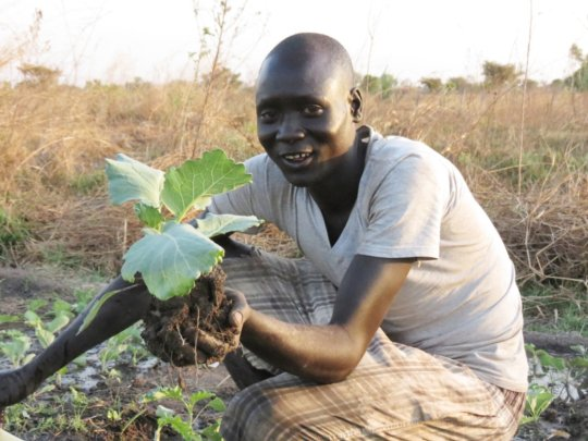 Farming is possible with water