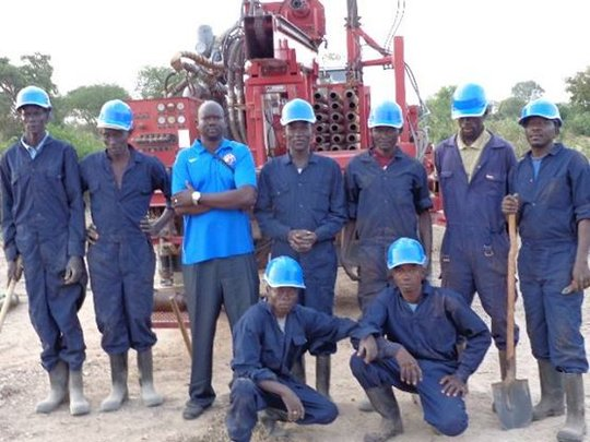 WFSS 2014 Drilling Team drilled 40 new wells!