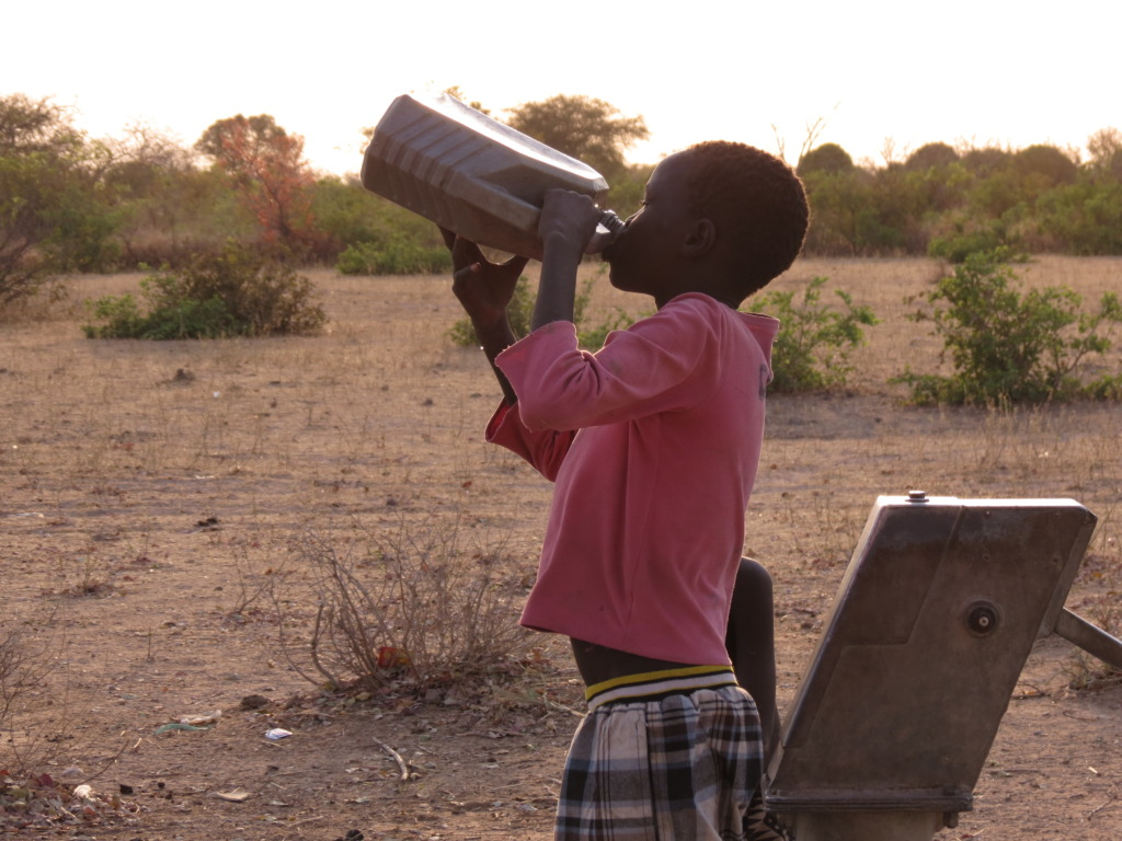Drinking fresh water from a WFSS well
