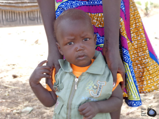 With a well in his village, this child is thriving