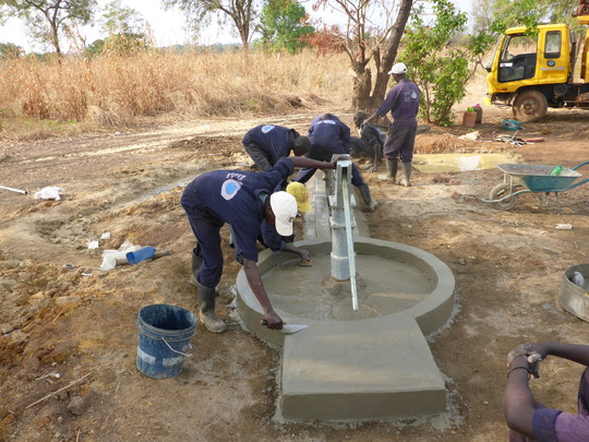 Finishing a well