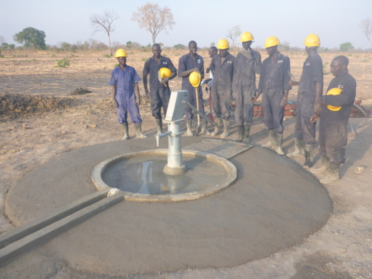 WFSS redesigned the cement base of wells in 2016