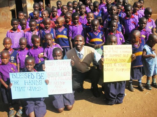 Solar Lighting for Schools in Uganda