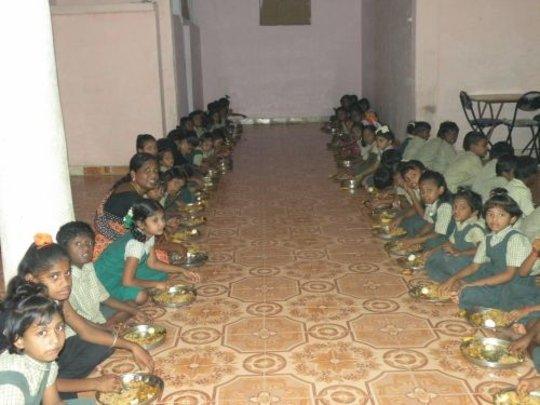 Give life food&,education for orphanage children.