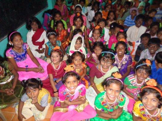 xmas children happy