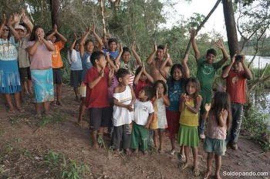 Local children