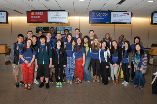 TSC Team Leaving to Vietnam