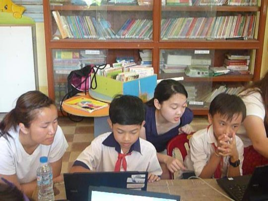 Install 30 Laptops Vietnam Reading Rooms