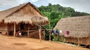 Lahu tribe village