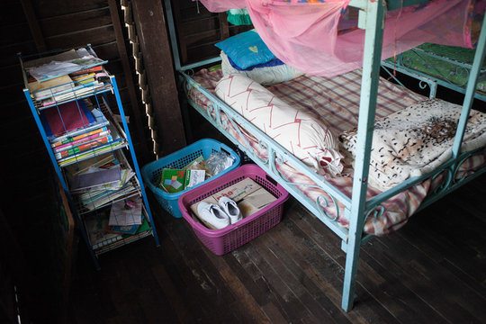 A bedroom for the girls