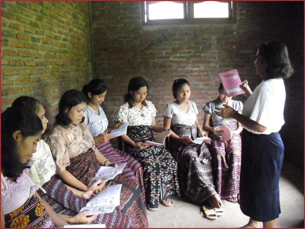 Health Book in Bahasa to Remote Indonesian Islands