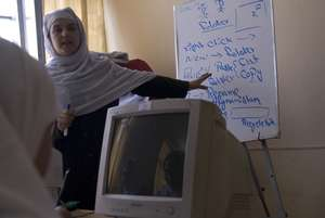 Empower Afghan girls with computer skills