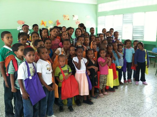 Shoes and School Supplies for Dominican Children