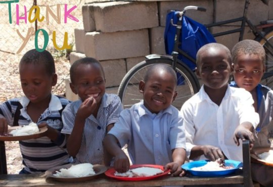 Help Feed Hungry Children in Zimbabwe