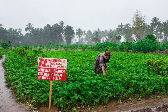 Grace is a farmer in BRAC's Agriculture project