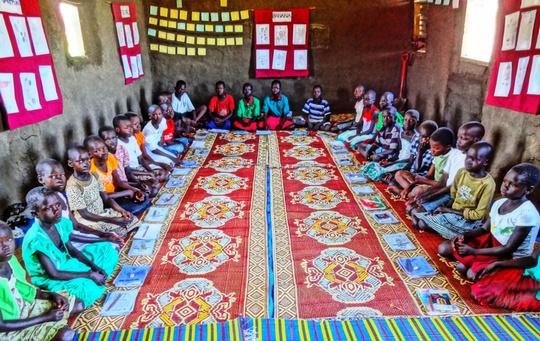 A primary school in Juba