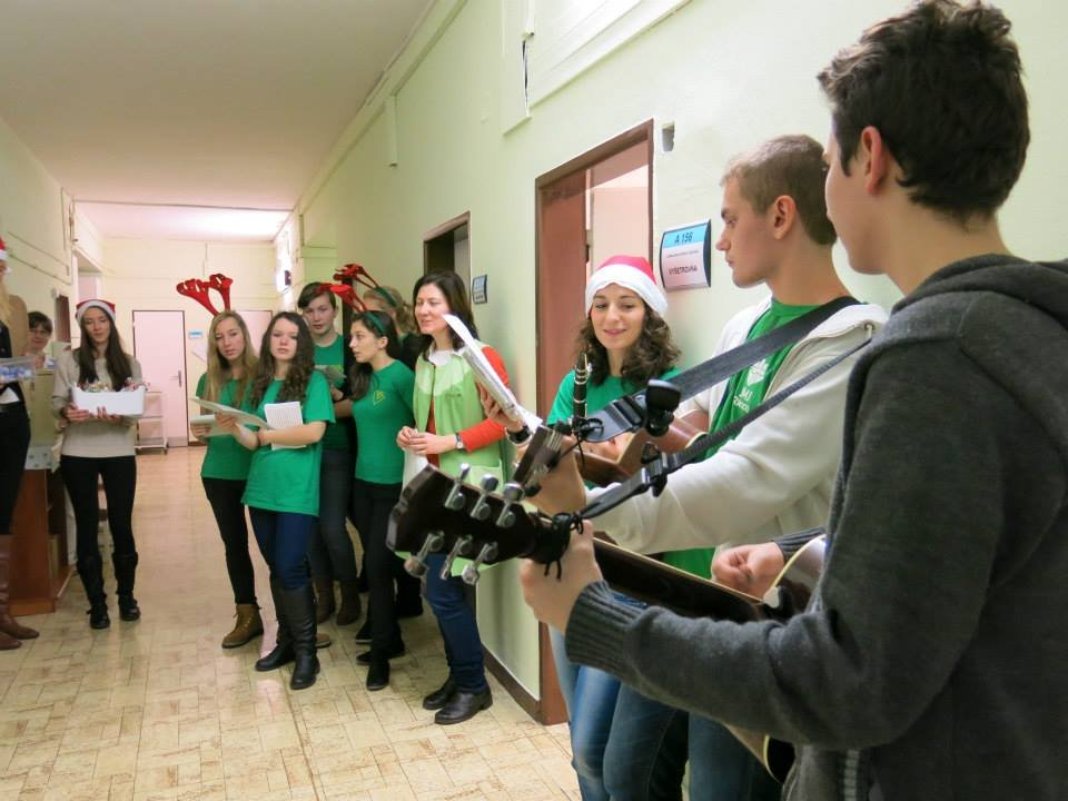 Carolling in our hospital