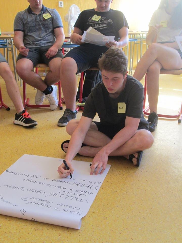 High-school workshop about mental health