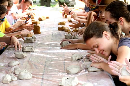 Clay creating