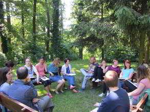 Preparatory meeting of cummer camp participants