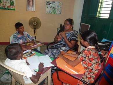 Vocational Skills 40 Indian Orphan school drop-out