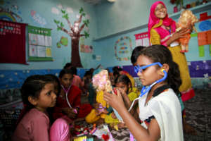 BRAC primary school students learn through play