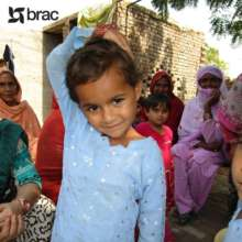 Eman's sister attends a BRAC school in Pakistan.