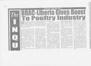 Inquirer article features BRAC hatchery