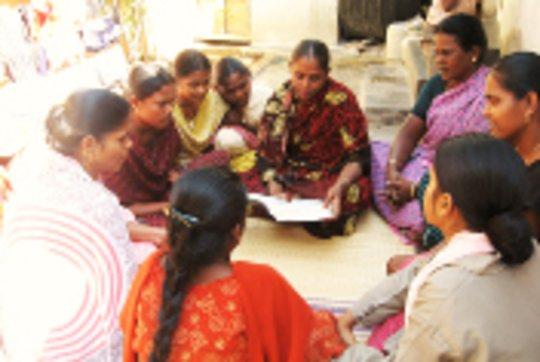 Women's Health Book in Tamil for Village Women
