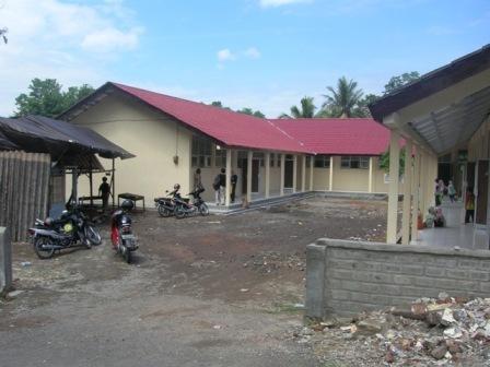 Kaligathuk school after reconstruction