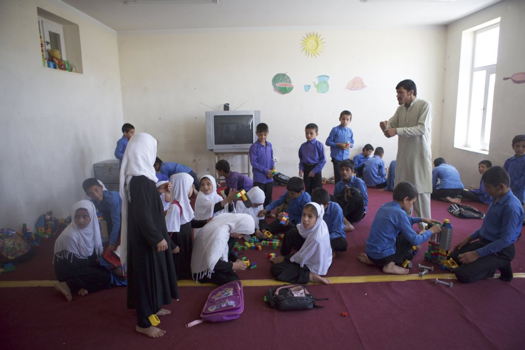 Support 400 Disabled Children's Education in Kabul