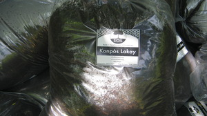 SOIL compost bagged for sale in Haiti