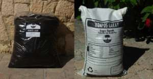 Old (left) vs. New (right) Compost Bags